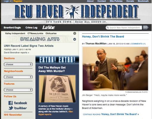 New Haven Independent